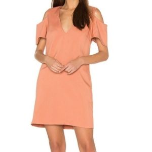 ELLIATT Cold Shoulders Mini Dress
